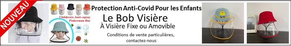 Bob Visiere Protection anti covid pour les enfants