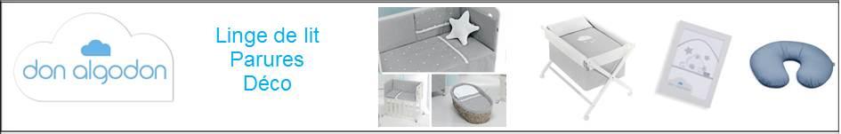 Don algodon textile chambre