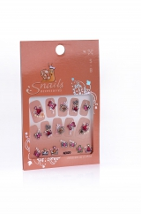 Stickers 3D Nail Perfect Princess